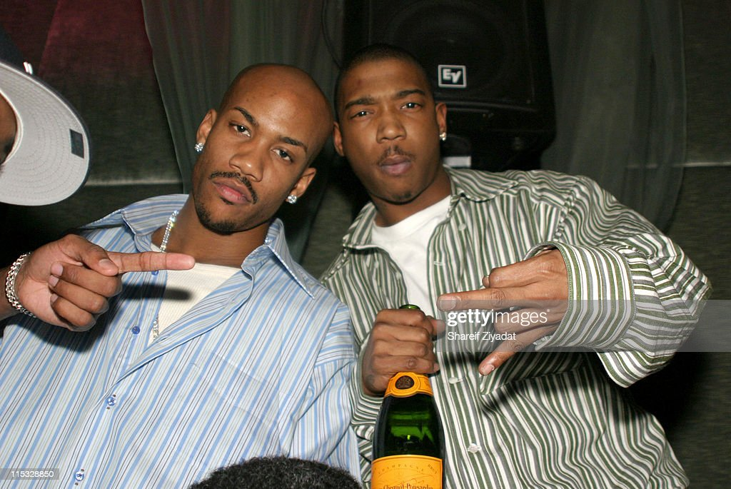 Ja Rule, Stephon Marbury and Nick Cannon at Darcy - New York