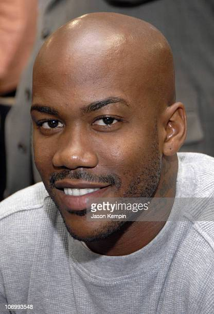 Stephon Marbury during Stephon Marbury InStore Appearance For His 'Starbury' Clothing And Apparel August 17 2006 at Steve Barry's in New York City...