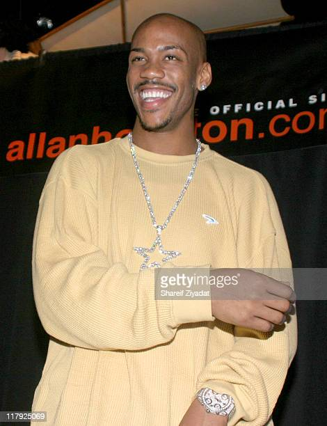 Stephon Marbury of The New York Knicks during New York Knicks 2004 Christmas Carnival Featuring Fat Joe and Ja Rule at Intrepid in New York City New...