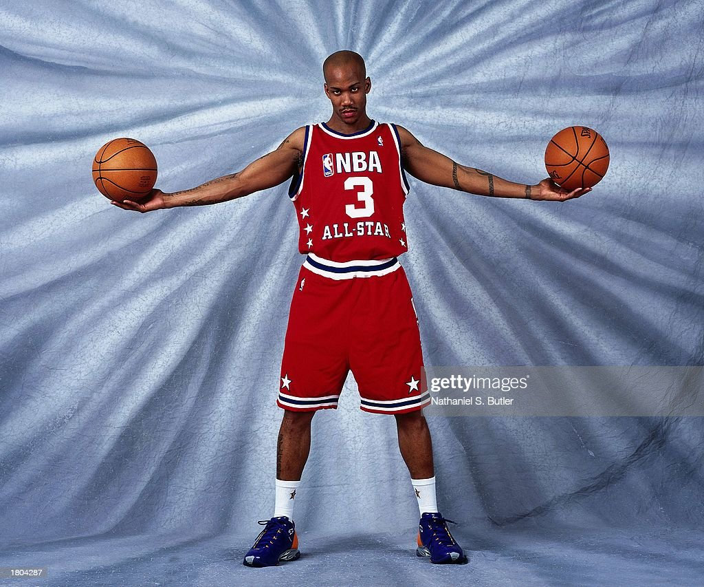 Marbury poses for a portrait