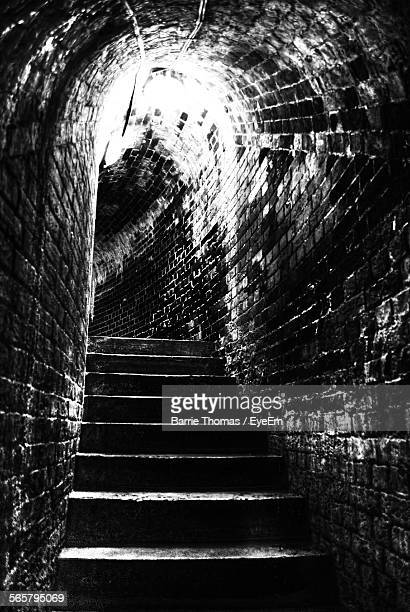 Steps In Stone Tunnel