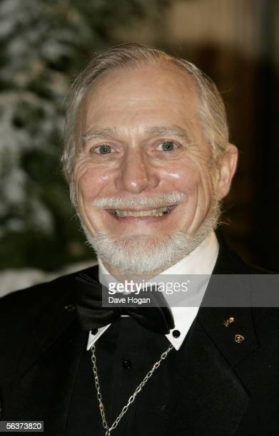 Stepson to CS Lewis Douglas Gresham arrives at the Royal Film Performance and World Premiere of 'The Chronicles Of Narnia' at the Royal Albert Hall...