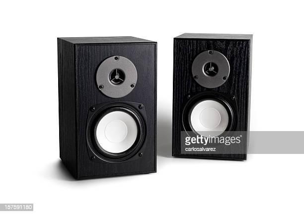 Altavoces estéreo con trazado de recorte