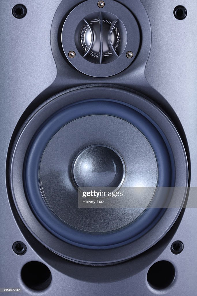 Stereo Speaker : Stock Photo