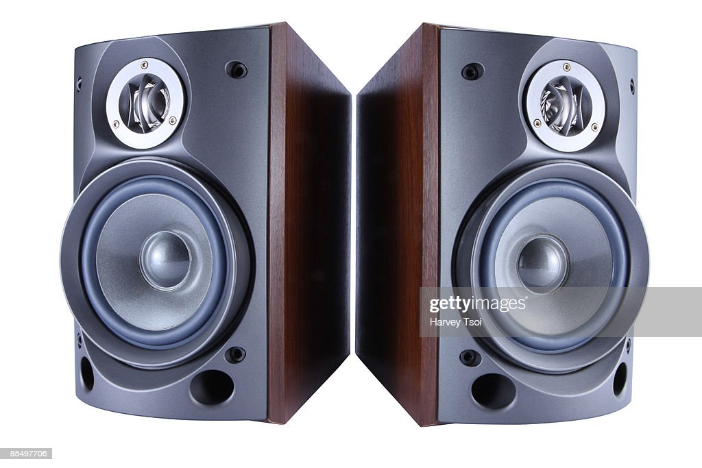 Stereo Speakers : Stock Photo