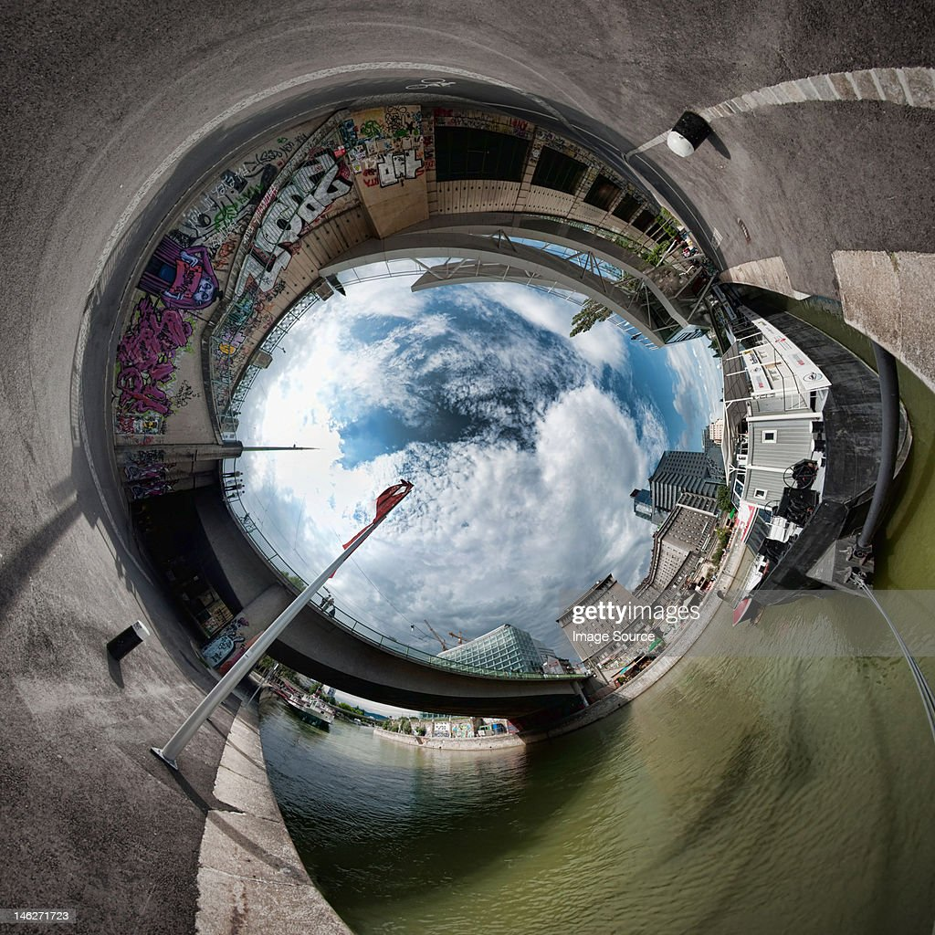 Stereographic image in Vienna, Austria