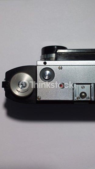 Stereoscopic Camera Film Rewind Knob And Shutter Release
