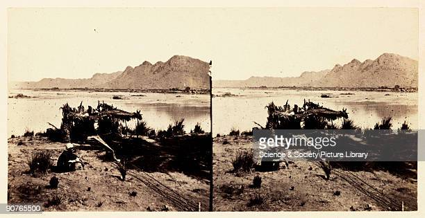 A stereoscopic photograph of Kulb Northern Sudan taken in 1859 by Francis Frith Francis Frith was a pioneer of travel photography He was also one of...