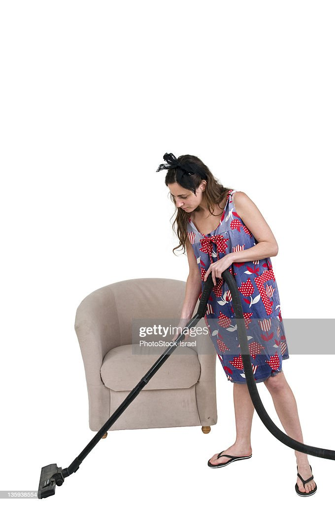 Stereotypical household chores : Stock Photo