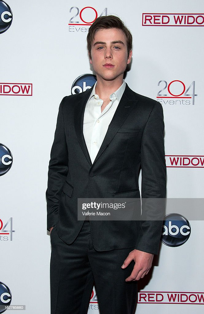 Sterling Beaumon attends ABC's 'Red Widow' Red Carpet Event at Romanov Restaurant Lounge on February 26, 2013 in Studio City, California.
