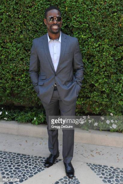 Sterling K Brown arrives at The Rape Foundation's Annual Brunch at a private residence on October 8 2017 in Los Angeles California