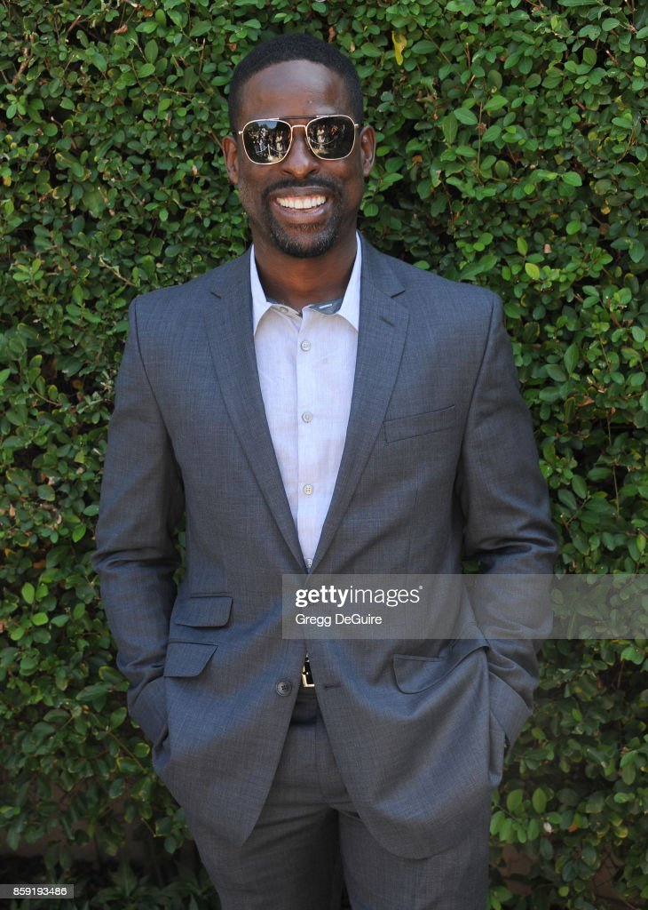 Sterling K. Brown arrives at The Rape Foundation's Annual Brunch at a private residence on October 8, 2017 in Los Angeles, California.
