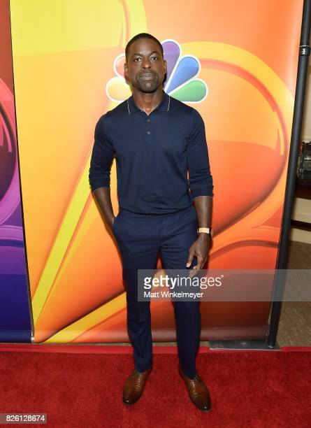 Sterling K Brown at the NBCUniversal Summer TCA Press Tour at The Beverly Hilton Hotel on August 3 2017 in Beverly Hills California
