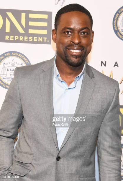 Sterling K Brown attends 48th NAACP Image Dinner at Pasadena Convention Center on February 10 2017 in Pasadena California