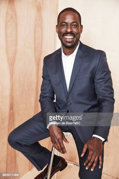 Sterling K Brown of 'This is Us' poses for a photo during NBCUniversal Upfront Events Season 2017 Portraits Session at Ritz Carlton Hotel on May 15...