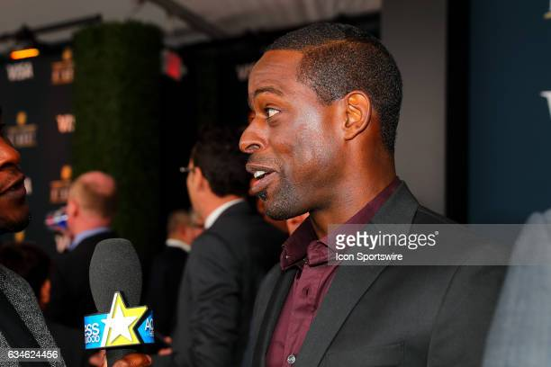 Sterling K Brown on the Red Carpet at the 2017 NFL Honors on February 04 at the Wortham Theater Center in Houston Texas