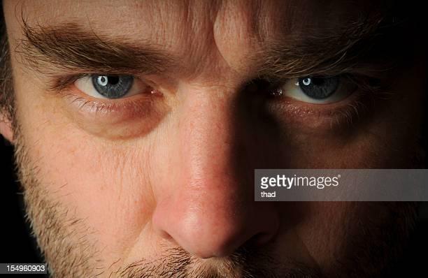 Stern Looking Man