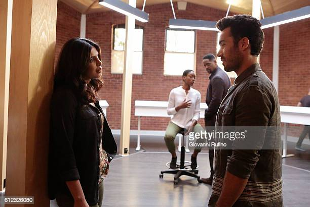 QUANTICO 'Stescalade' The new CIA recruits continue training at The Farm focusing on assessment while in the future Alex goes undercover to...
