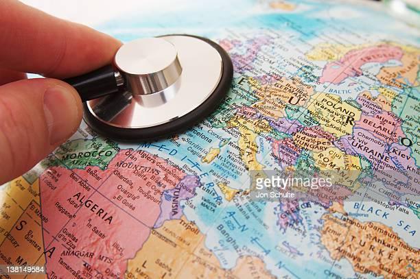 Stethoscope and Europe