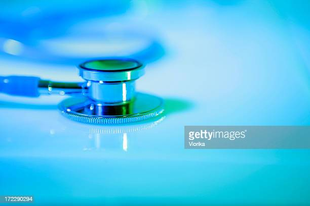 Stethoscope close-up