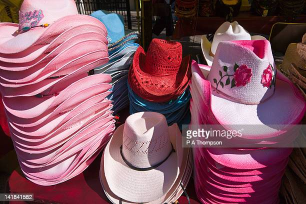 Stetsons for sale, Calgary Stampede, Alberta, Canada