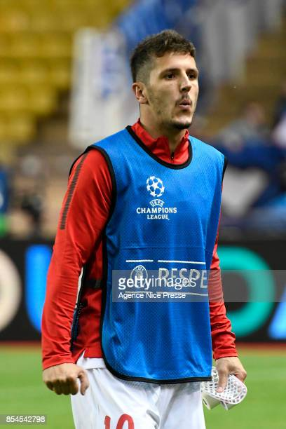 Stevan Jovetic of Monaco during the Uefa Champions League match between As Monaco and Fc Porto on September 26 2017 in Monaco Monaco