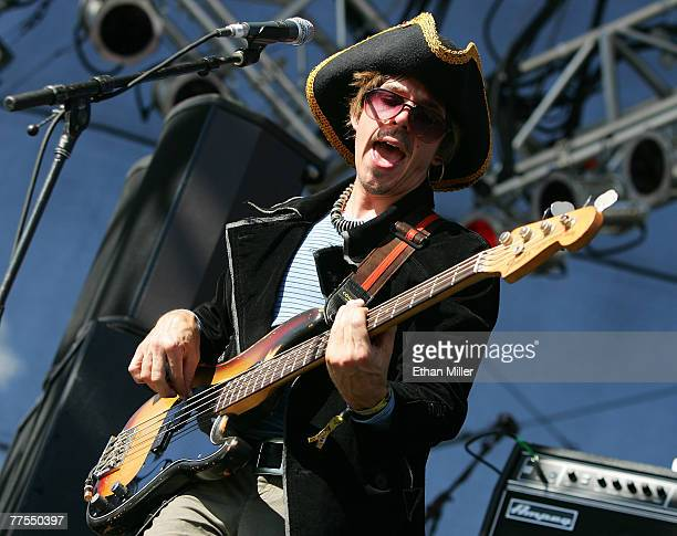 Steve Adams of the band ALO performs during the Vegoose music festival at Sam Boyd Stadium's Star Nursery Field October 28 2007 in Las Vegas Nevada
