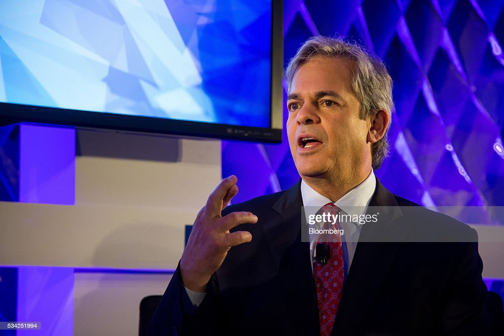 Steve Adler, mayor of Austin, speaks during the Bloomberg Breakaway Summit in New York, U.S., on Wednesday, May 25, 2016. At the inaugural event, participants will hear from corporate leaders investors and government officials on the most crucial issues that impact their ability to find new markets, win over investors, recruit top talent, protect data, and more. Photographer: Michael Nagle/Bloomberg via Getty Images