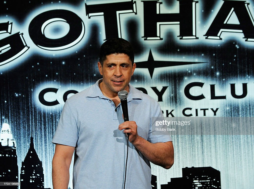 Steve Alevea attends Laughter Saves Lives Comedy Night to Benefit The Tribute 9/11 Visitor Center at Gotham Comedy Club on June 12, 2013 in New York City.