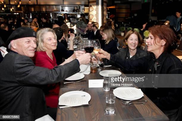 Steve Alldredge Gail Holstein Linda Girvin and Ellen Kohner Hunt attend the 2017 Aspen Shortsfest Awards Dinner on April 9 2017 at Aspen Kitchen in...