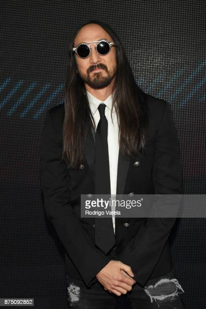 Steve Aoki attends The 18th Annual Latin Grammy Awards at MGM Grand Garden Arena on November 16 2017 in Las Vegas Nevada