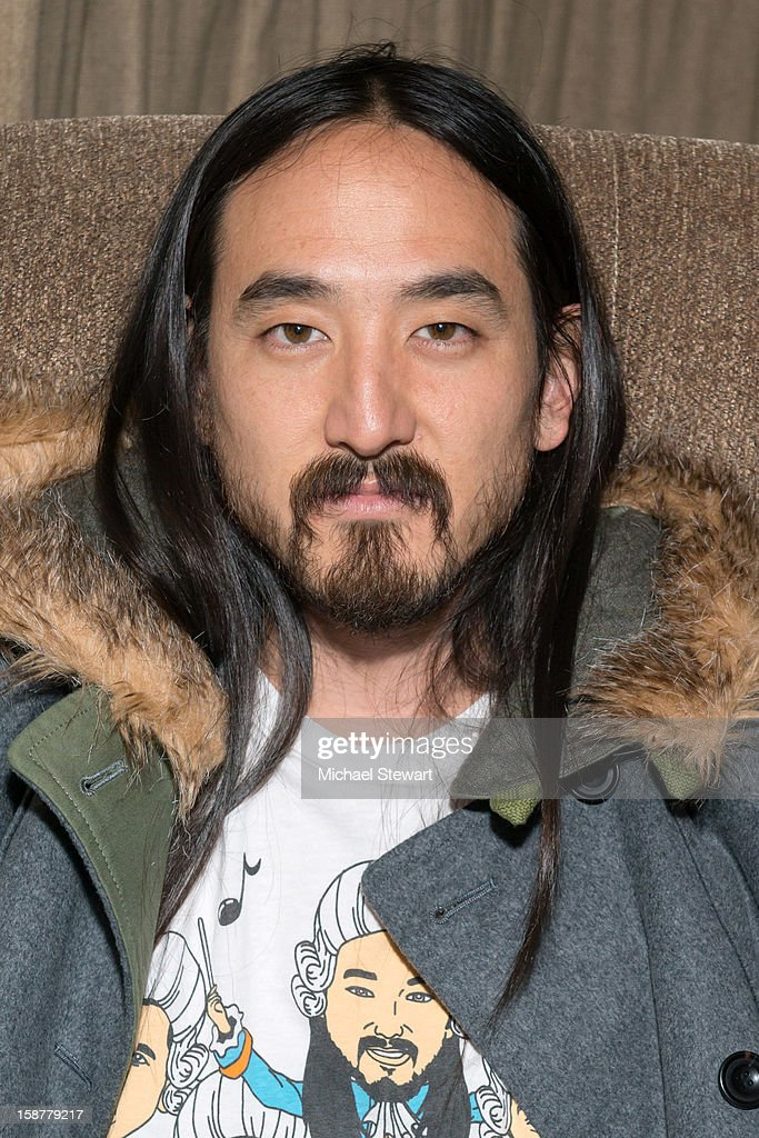 DJ Steve Aoki attends the 2012 Aokify NYC at Pier 94 on December 27, 2012 in New York City.
