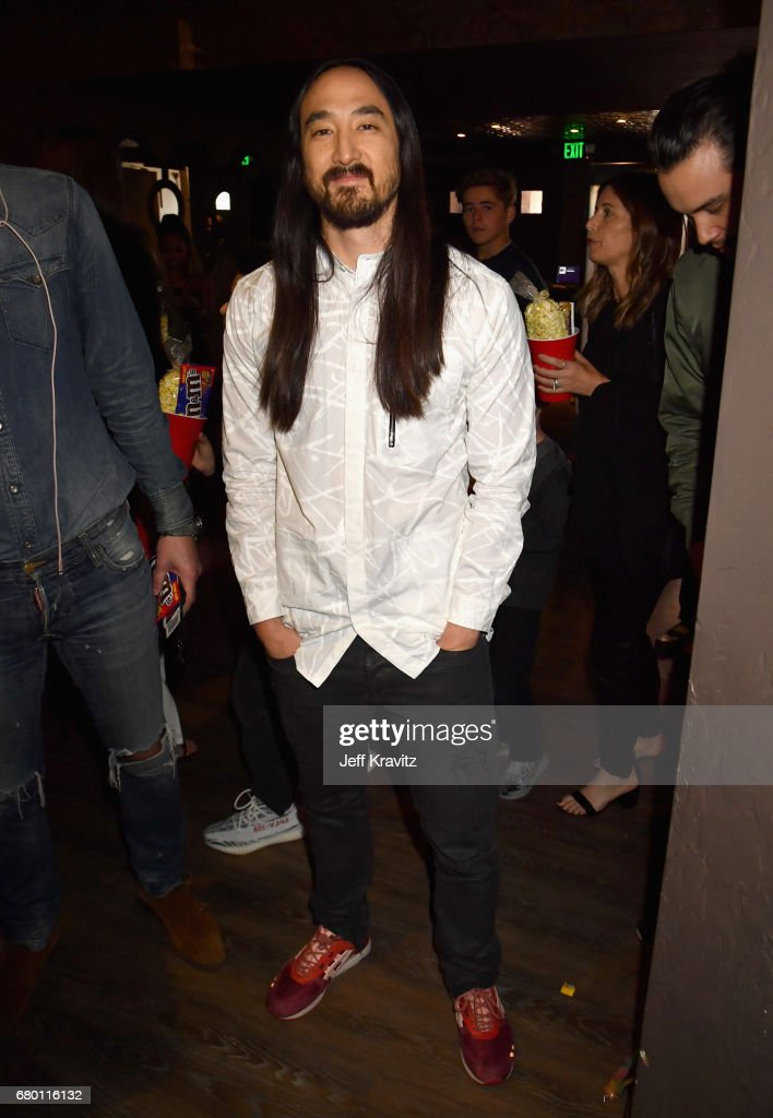 DJ Steve Aoki attends the 2017 MTV Movie And TV Awards at The Shrine Auditorium on May 7, 2017 in Los Angeles, California.