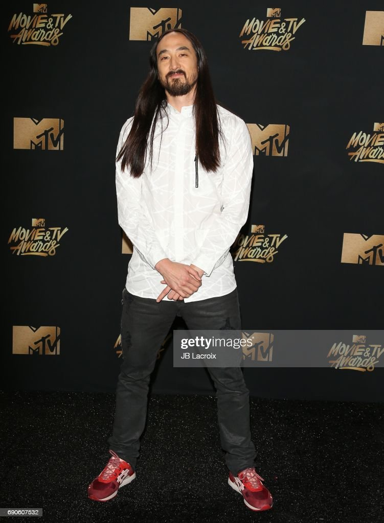 Steve Aoki attends the 2017 MTV Movie and TV Awards at The Shrine Auditorium on May 7, 2017 in Los Angeles, California.