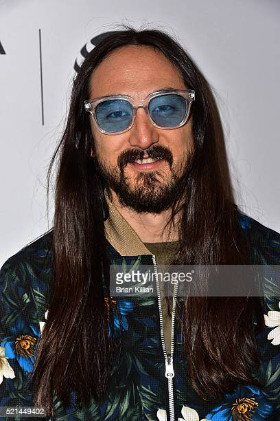 Steve Aoki attends the 'I'll Sleep When I'm Dead' Premiere 2016 Tribeca Film Festival at Beacon Theatre on April 15 2016 in New York City