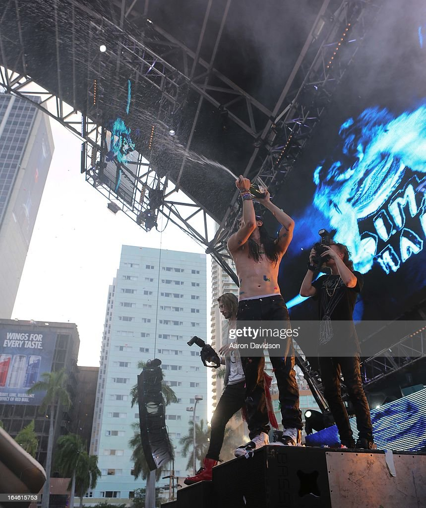 <a gi-track='captionPersonalityLinkClicked' href=/galleries/search?phrase=Steve+Aoki&family=editorial&specificpeople=732001 ng-click='$event.stopPropagation()'>Steve Aoki</a> attends Ultra Music Festival Weekend 2 at Bayfront Park Amphitheater on March 24, 2013 in Miami, Florida.