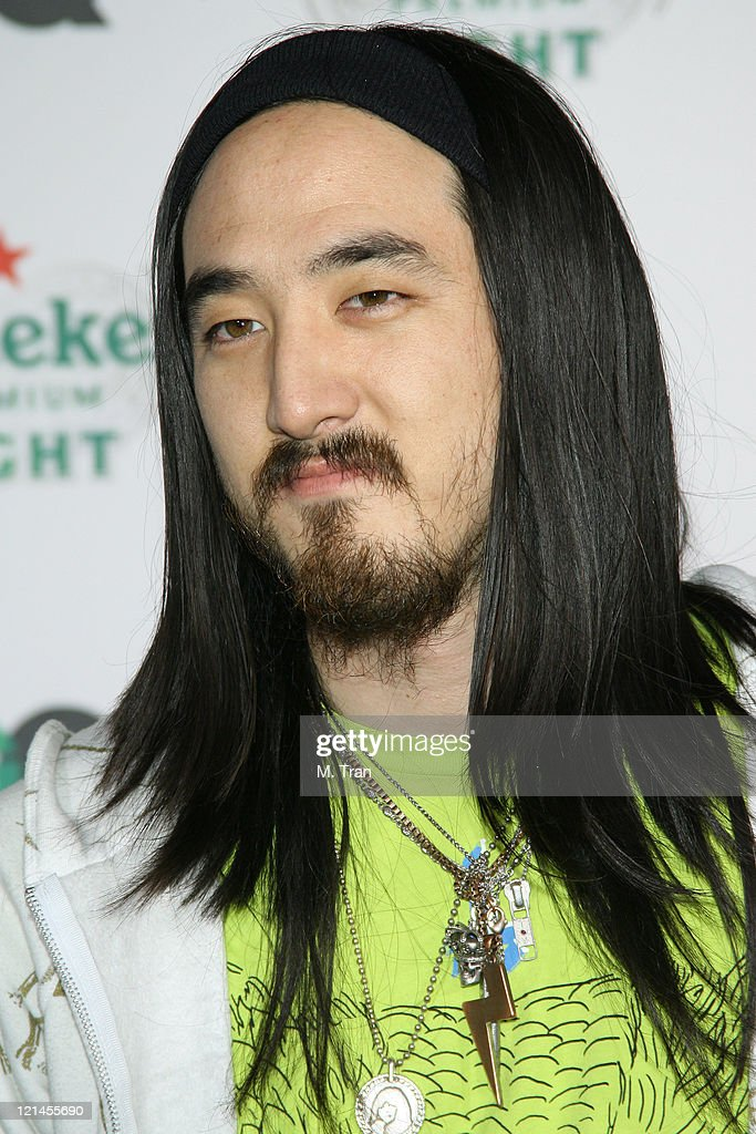 <a gi-track='captionPersonalityLinkClicked' href=/galleries/search?phrase=Steve+Aoki&family=editorial&specificpeople=732001 ng-click='$event.stopPropagation()'>Steve Aoki</a> during GQ Magazine Celebrates Heineken Premium Light at Les Deux in Hollywood, California, United States.