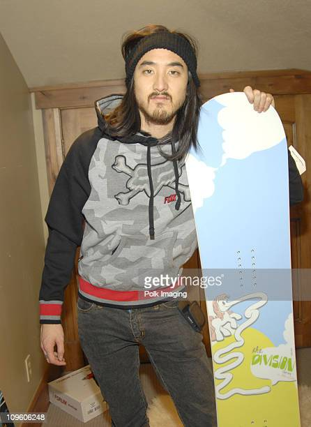 DJ Steve Aoki 'Kid Millionaire' at Fuel TV Chalet during Fuel TV Chalet at Sundance and XDance 2006 Day 5 at Woodside Ave in Park City Utah United...