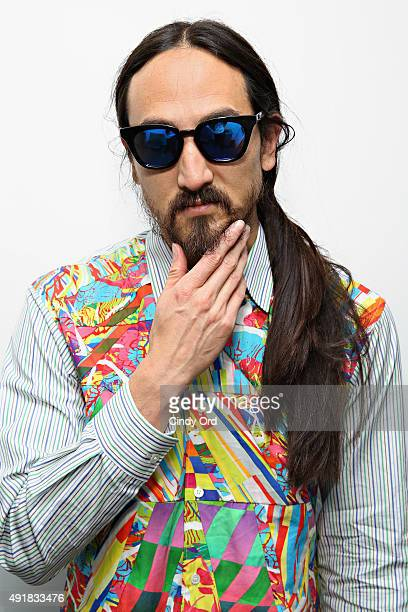 DJ Steve Aoki visits the SiriusXM Studios on October 8 2015 in New York City