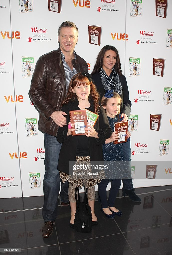 Steve Backley attends 'Diary of a Wimpy Kid' UK dvd Premiere at Vue Westfield on December 02, 2012 in London, England.