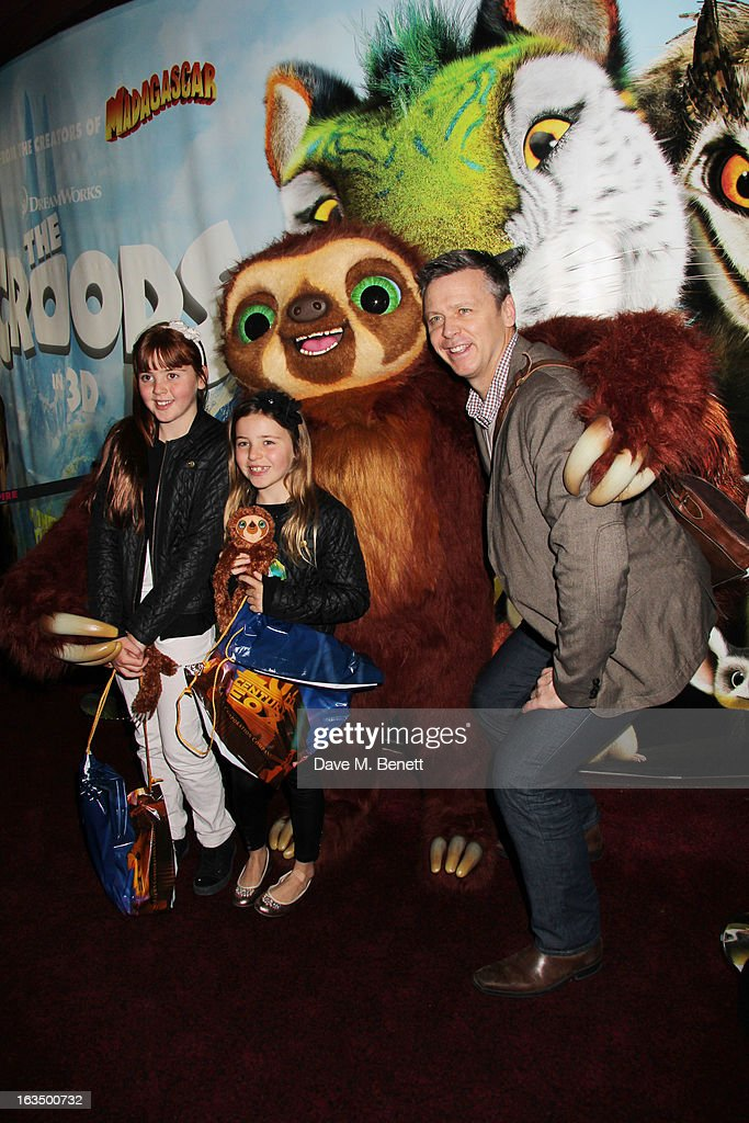 <a gi-track='captionPersonalityLinkClicked' href=/galleries/search?phrase=Steve+Backley&family=editorial&specificpeople=220984 ng-click='$event.stopPropagation()'>Steve Backley</a> (R) attends 'The Croods' Premiere at Empire Leicester Square on March 10, 2013 in London, England.