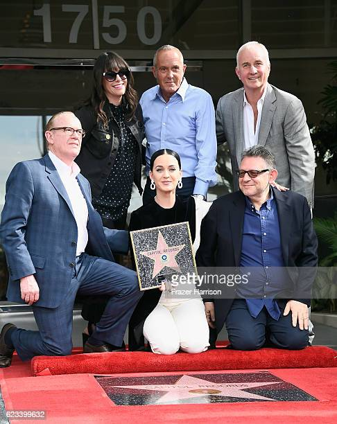 Steve Barnett Chairman Chief Operating Officer Capitol Music Group Michelle Jubelirer Chief Operating Officer Capitol Music Group singer Katy Perry...
