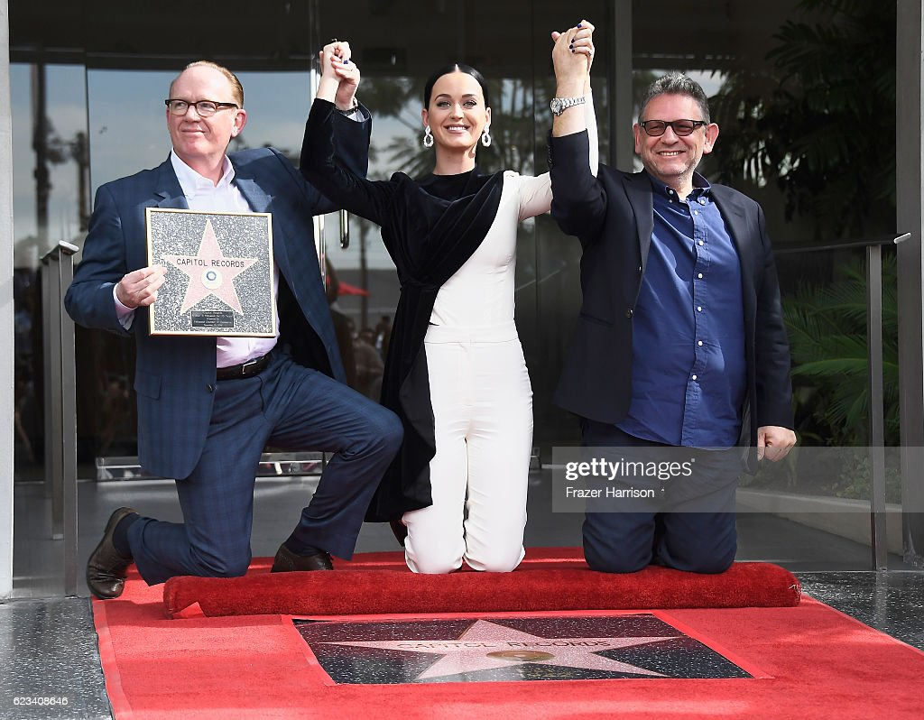 """Capitol Records Honored By The Hollywood Chamber Of Commerce With A """"Star Of Recognition"""""""