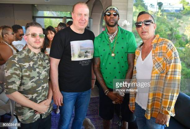Steve Bartels and 2 Chainz attend a Def Jam Celebration for 2 Chainz Vince Staples Presented By Baller Alert on June 24 2017 in Los Angeles California