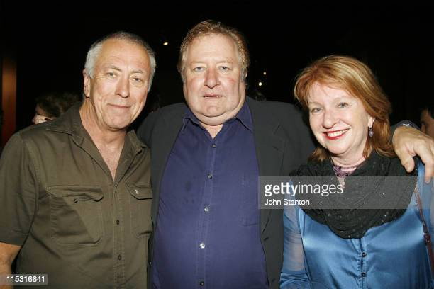 Steve BisleyJohn Wood and Jan Chapman during Belvoir St Theatre Opening Night October 4 2006 at Belvoir St Theatre in Sydney NSW Australia