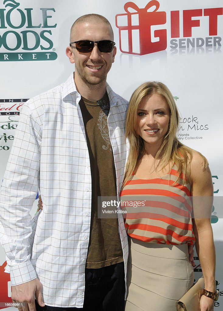 <a gi-track='captionPersonalityLinkClicked' href=/galleries/search?phrase=Steve+Blake&family=editorial&specificpeople=204474 ng-click='$event.stopPropagation()'>Steve Blake</a> and Kristin Blake attend Debbie Durkin's 3rd Annual Rockn Rolla Movie Awards Eco Party at Pickford Mansion on April 11, 2013 in Los Angeles, California.