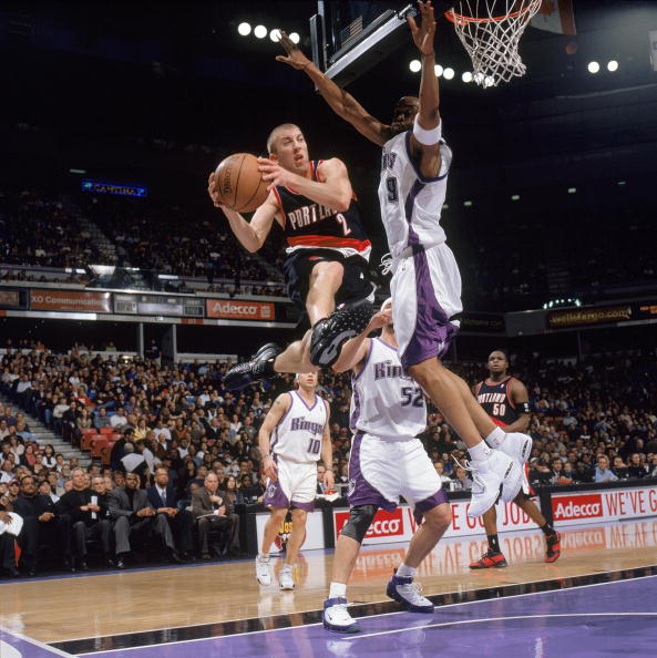 Portland Trail Blazers Kings: Steve Thomas Basketball Player Stock Photos And Pictures