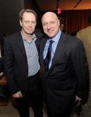 Steve Buscemi and Tom Colicchio attend the Bank Of America And Food Wine With The Cinema Society Screening Of 'A Place At The Table' After Party at...