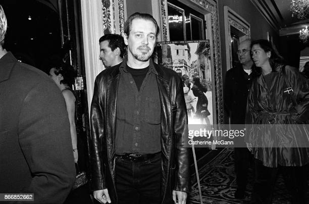 Steve Buscemi at the New York premiere of the movie 'Life Is Beautiful' at the Gotham Theater on October 1998 in New York City New York