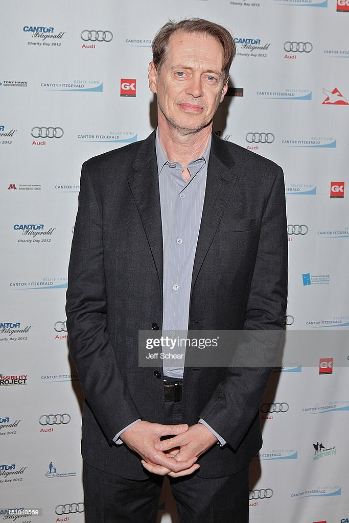 <a gi-track='captionPersonalityLinkClicked' href=/galleries/search?phrase=Steve+Buscemi&family=editorial&specificpeople=207107 ng-click='$event.stopPropagation()'>Steve Buscemi</a> attends Annual Charity Day Hosted By Cantor Fitzgerald And BGC Partners on September 11, 2012 in New York, United States.